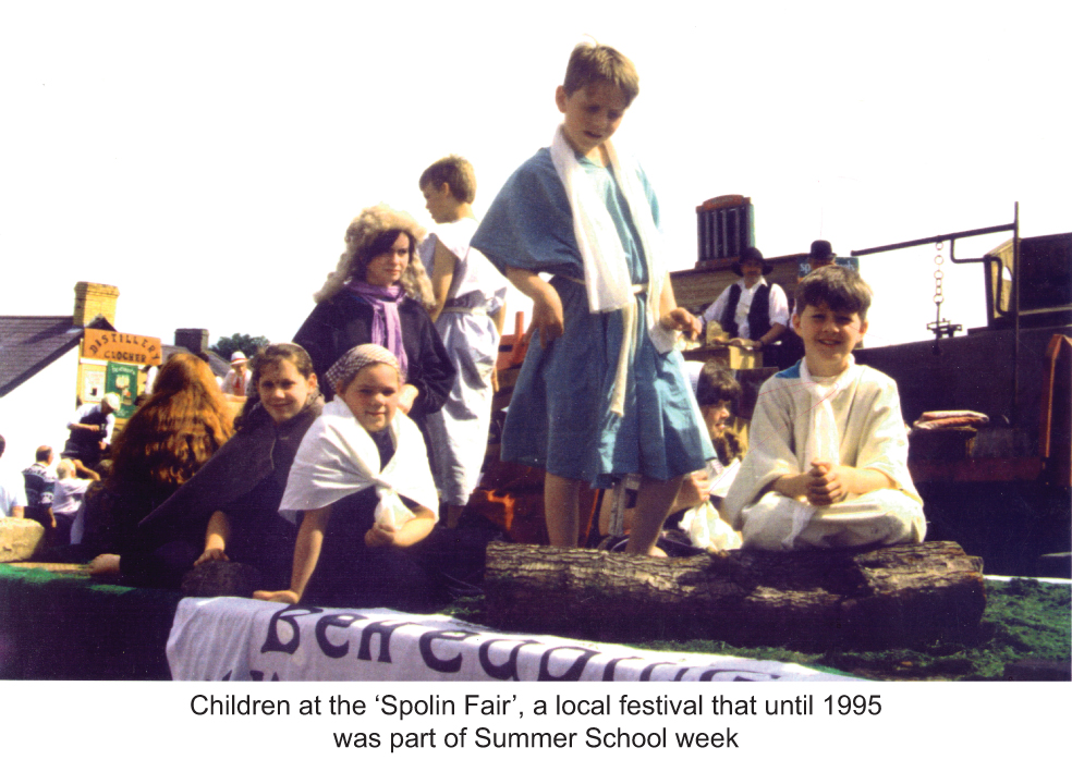 The Spolian Fair, Clogher: part of Summer School week 1995